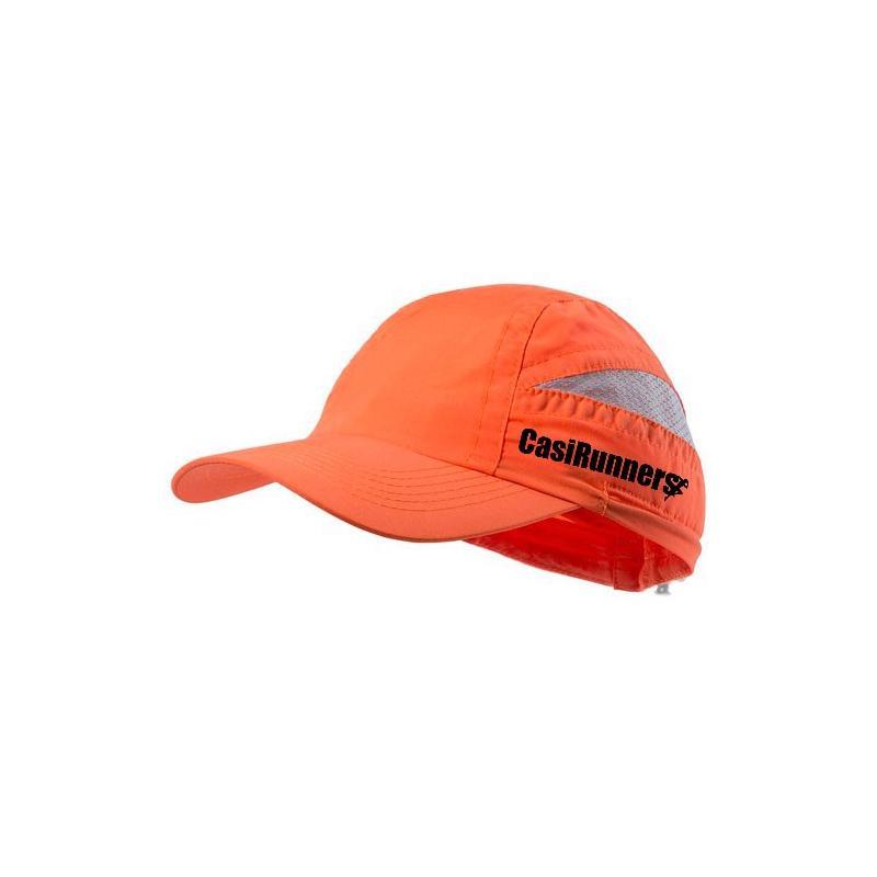 Gorra Técnica Microfibra naranja