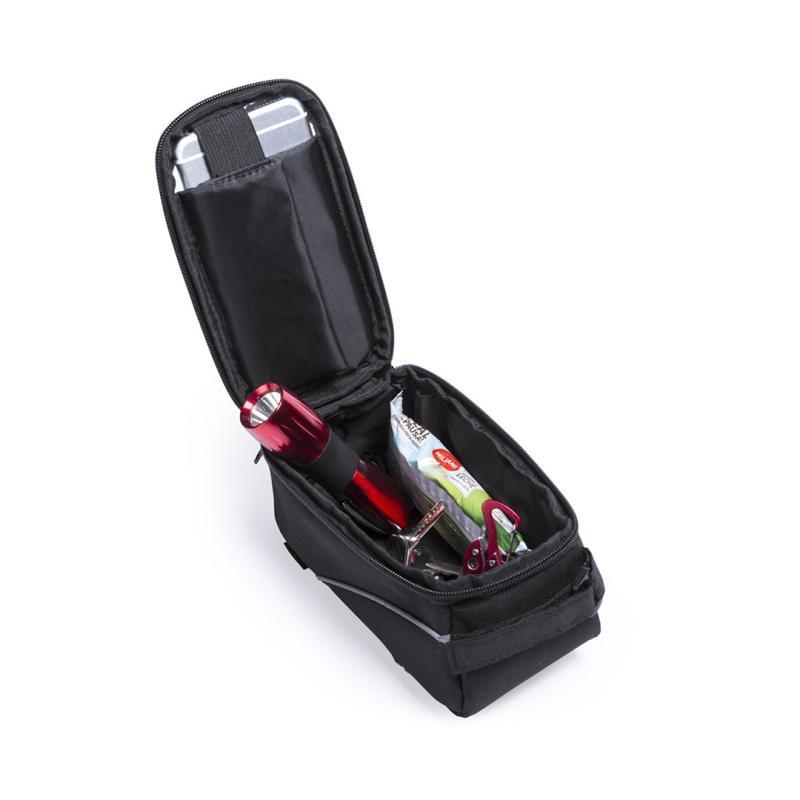 Bolsa bicicleta porta herramientas y movil