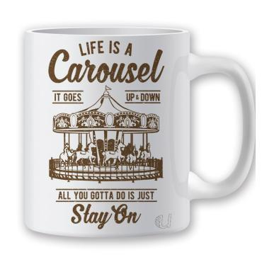 Taza Life is a Carousel