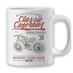 Taza Classic Caferacer