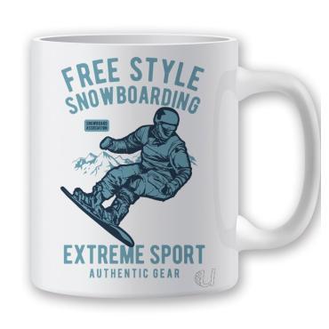 Taza Free Style Snow