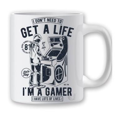 Taza Classic Gamer