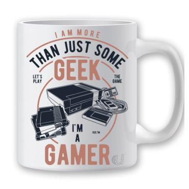 Taza Geek Gamer