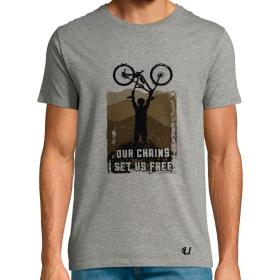 Camiseta Bicicleta Our Chains