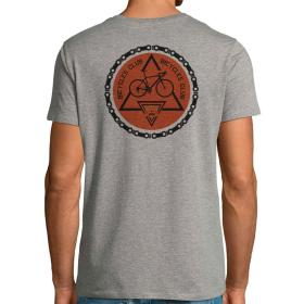 Camiseta Bicycle Club Trasera