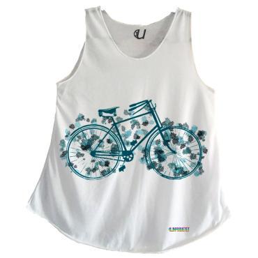 Camisetas Mujer Tirantes Bicicleta