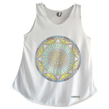 Camisetas Mujer Tirantes Mandala