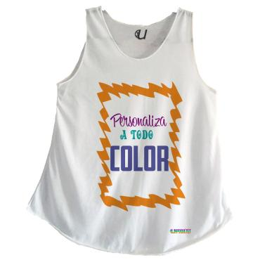 Camiseta Mujer Tirantes Personalizada