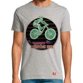 Camiseta Bicicleta Mountain Bike Extremo
