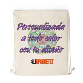 mochila saco personalizado