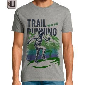 Camiseta correr Trail Running