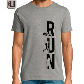 Camiseta correr RUN