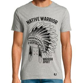 Camiseta Native Warrior Correr