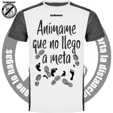 Camiseta running divertida animame
