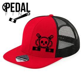 Gorra PedalFino Cruzada Bicicleta
