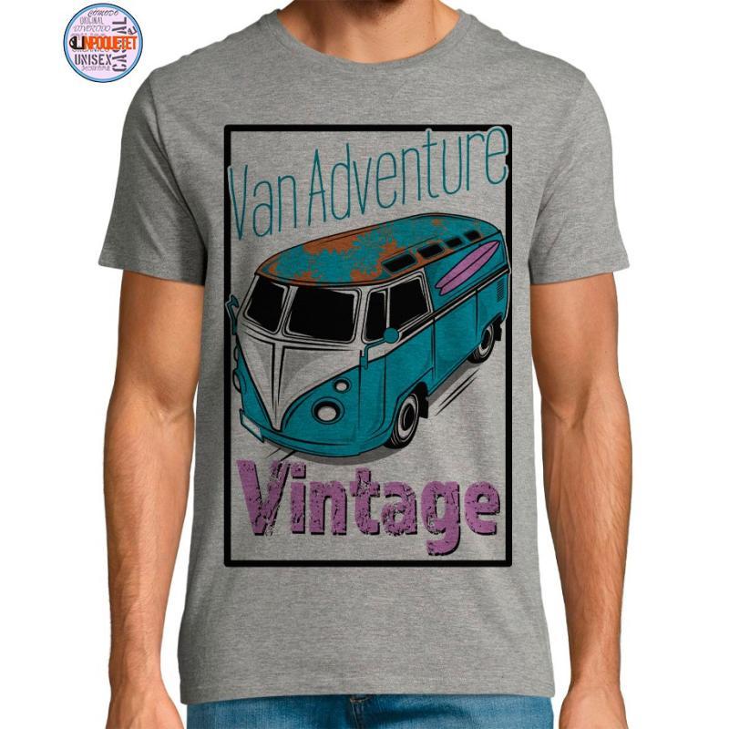 Camiseta Van Adventure Vintage