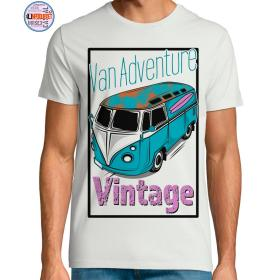 camiseta furgoneta vintage