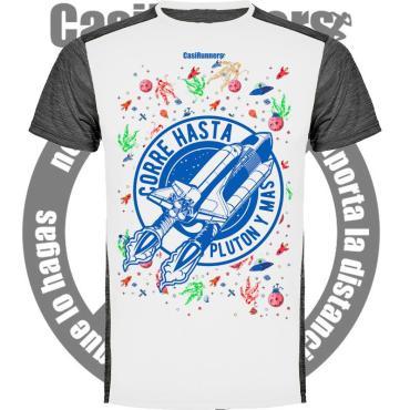 Camiseta Técnica Correr Hasta Plutón