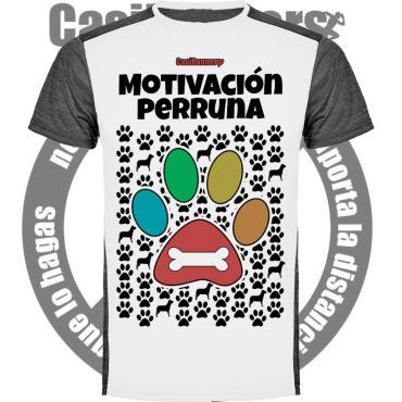 Camiseta running Motivación Perruna