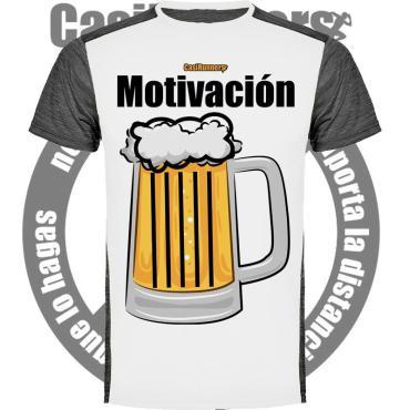 Camiseta running Motivación Cerveza