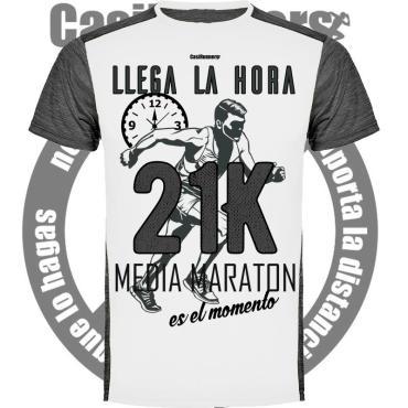 Camiseta Running Media Maratón