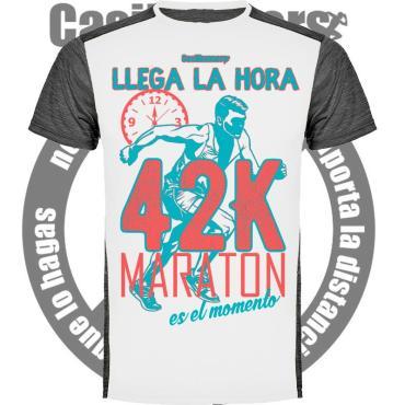 camiseta running 42k maratón