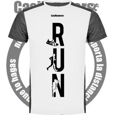 Camiseta Técnica divertida RUN