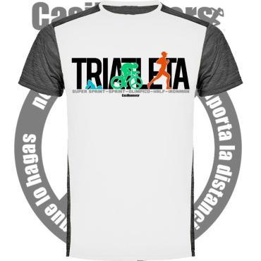 Camiseta Técnica Triatleta