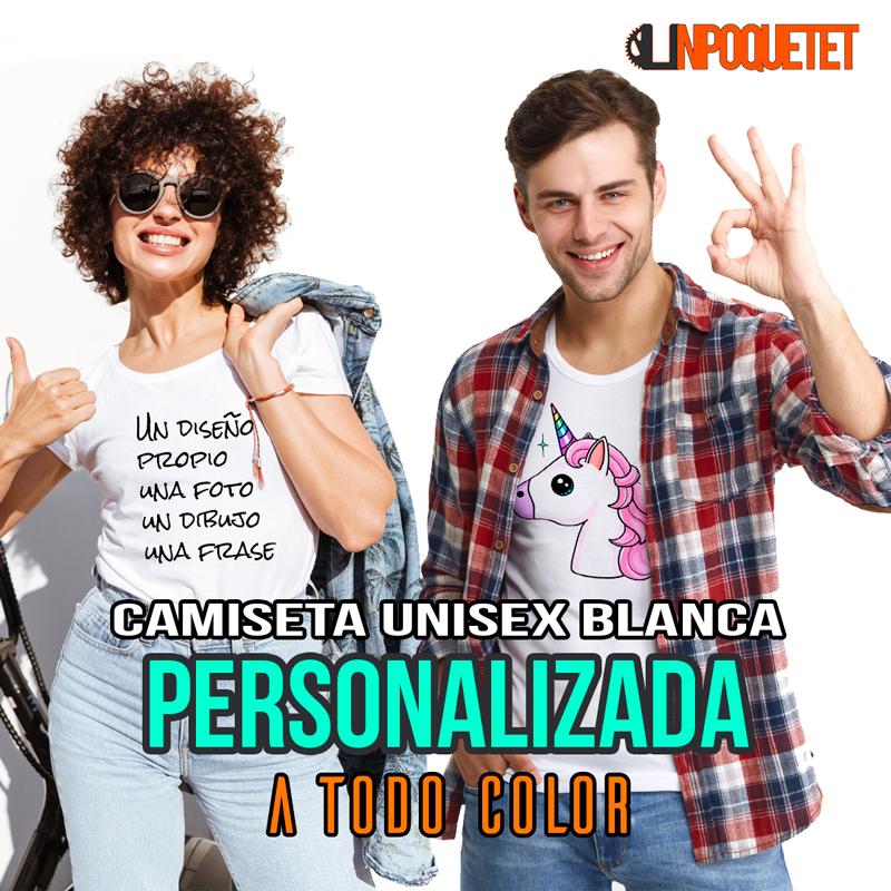 Camisetas Blancas Personalizadas