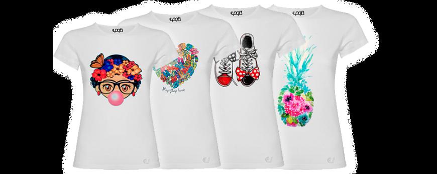 Camisetas de mujer originales y divertidas